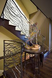 Iron Banister Unique Wrought Iron Banister Ideas Inspired By Nature