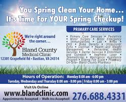Time For Spring Cleaning by Bluefield Daily Telegraph Newspaper Ads Classifieds Medical