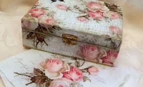 Decoupage Box Ideas - flowers decoupage box gardening flower and vegetables