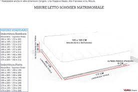 materasso piazza e mezza misure misure materassi singoli