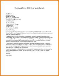 cover letter sample nursing student cover letter cover letter