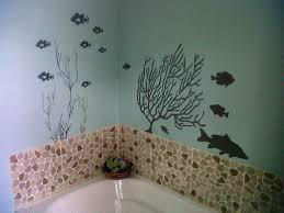 wall art stickers bathroom