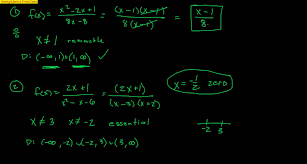 pre calculus section 2 6 rational functions part 1 youtube
