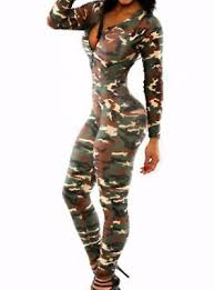 military army catsuit new womens bodysuit halloween costume