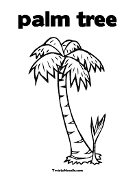 images of cartoon palm trees