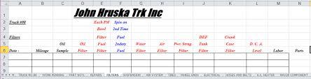 Tax Deduction Spreadsheet Template Trucking Expenses Spreadsheet Laobingkaisuo Com