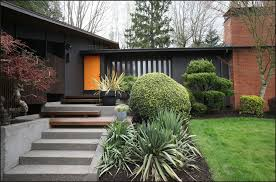 mid century ranch exterior haute homes mid century pinterest