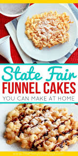 best 25 funnel cake recipe easy ideas on pinterest fair haven