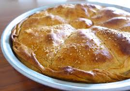 traditional leek pie recipe prasopita my dish