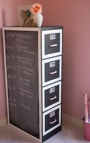 Chalk Paint On Metal Filing Cabinet Diy File Cabinet Desk File Cabinet Desk Diy File Cabinet And Desks