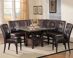 dining room sets with bench bench absolutely ideas black dining room set with bench 20 picture