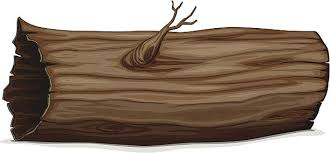 trunk clipart wood log pencil and in color trunk clipart wood log