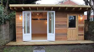 man cave she shed garden office youtube