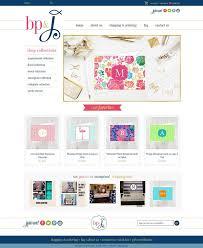 monogram websites 22 best boutique e commerce web design images on