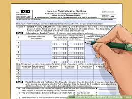 Clothing Donation Tax Deduction Worksheet How To Calculate Clothing Donations For Taxes 14 Steps