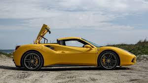 ferrari 458 vs 488 ferrari 488 spider 2016 review by car magazine