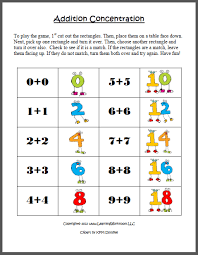 number names worksheets doubles addition facts worksheets free