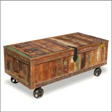 reclaimed wood coffee table with wheels reclaimed wood trunk wood storage box coffee table reclaimed chest