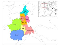 Map Of Italy Wine Regions by File Piedmont Provinces 2 Png Wikimedia Commons