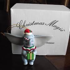grolier disney magic ornament dumbo 118 new in box