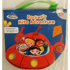 childrens reader disney einstein rocket kite adventure