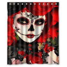 dia de los muertos curtain promotion shop for promotional dia de
