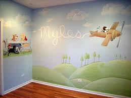 Snoopy Nursery Decor Snoopy And Winnie The Pooh Nursery Mural Ideas By Debbie Cerone