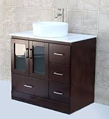 36 Bathroom Vanity With Drawers by Solid Wood 36