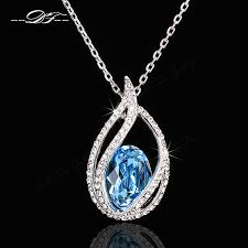 elegant pendant necklace images New fashion simple elegant cz diamond necklaces amp pendants jpg
