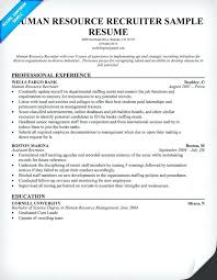 sample human resource resumes resources resume writing tips