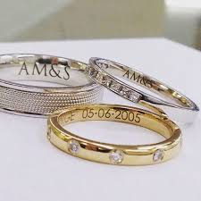 wedding ring engravings photoicon laser engraving cutting london jewellery