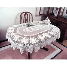 oval shaped tablecloths you ll wayfair