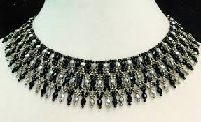 free necklace images Free pattern for necklace elaine beads magic jpg