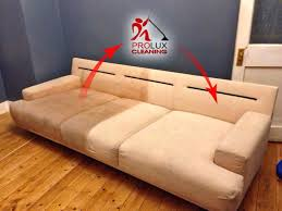 clean leather sofa with baking soda mjob