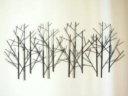 Twig Wall Decor Wall Decor Ideas For Kitchen Large Metal Tree Art Unique About My