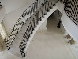 Iron Handrail For Stairs Staircases Metal Balustrade Handrails Wrought Iron Bronze
