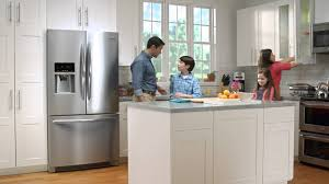 appliances contemporary kitchen with butcher block countertop and