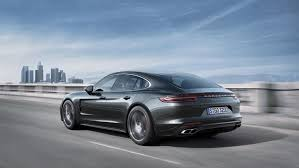 2017 porsche panamera revealed first look at new porsche sedan