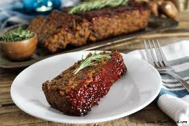 walnut meatless loaf w ketchup glaze vegan meatloaf gf