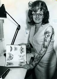 the gorgeous history of tattoos from 1900 to present female