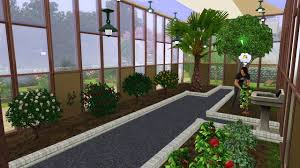 Inside Garden by Mod The Sims Riversidecity Greenhouse Revisited City Garden