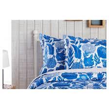 Target Xhilaration Comforter Blue Floral Painterly Comforter Set Xhilaration Target