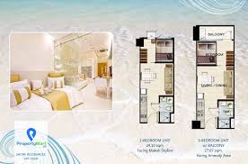 the shore floor plan shore residences 1 bedroom mall of asia complex pasay