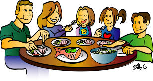 thanksgiving dinner table clip png vector