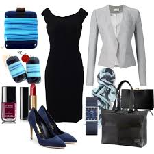 how to style little black dress to the office autumn office