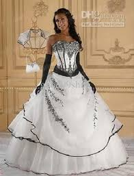 black and white quinceanera dresses white black embroidery quinceanera dresses formal gown prom