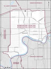 Map Of Edmonton Canada by Edmonton Centre Maps Corner Elections Canada Online