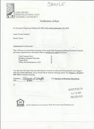 Sample Letter For 30 Day Notice To Terminate Lease by City Of Lynchburg Rental Inspection Program