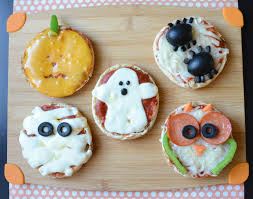 easy halloween mini pizzas food cbc parents