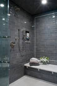 Shower Designs With Bench Bathroom Best Subway Tile Bathroom Small With Gray Tile And